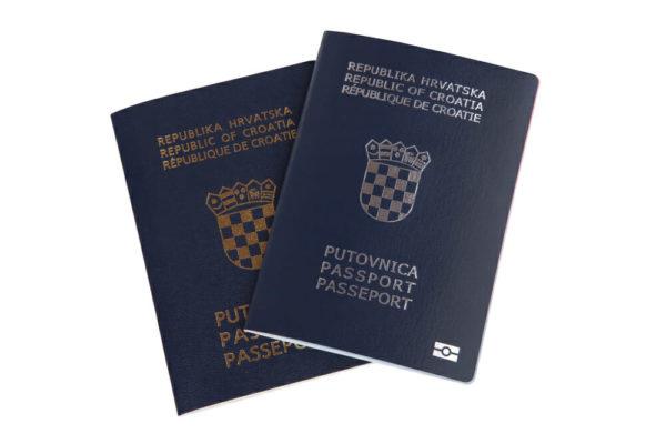 Паспорт гражданина Хорватии