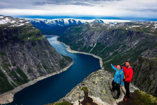 Пара в Норвегии