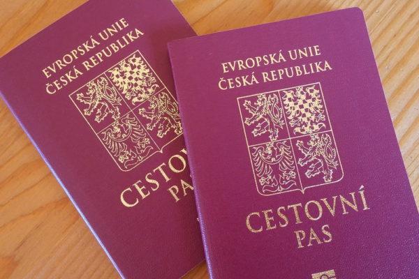 Чешские паспорта