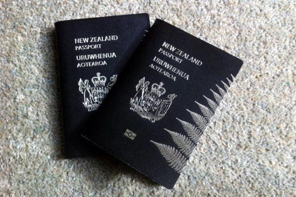 Паспорта Новой Зеландии