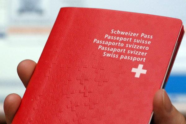 Паспорт в Швейцарии