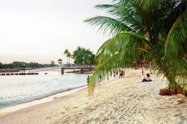 Пляж в Малайзии