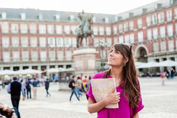 Женщина в Испании