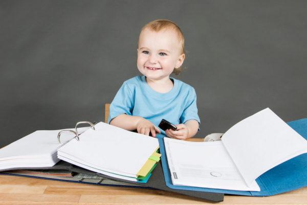 Ребенок и документы