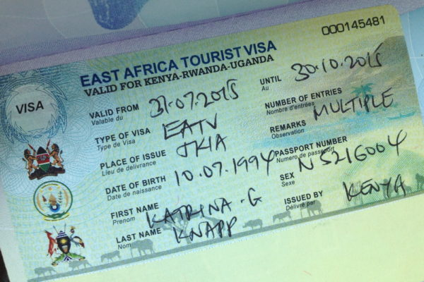 Единая восточноафриканская виза