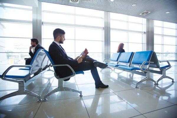 Бизнес класс в аэропорту