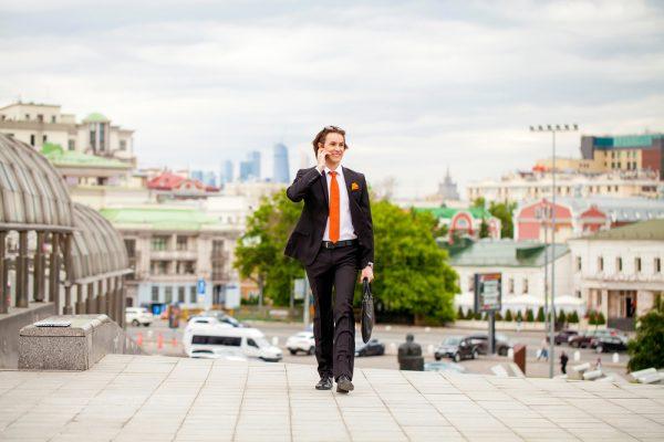 Бизнесмен в Москве