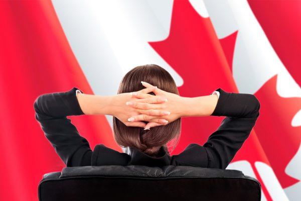 Бизнесвумен в Канаде