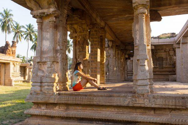 Девушка в Индии