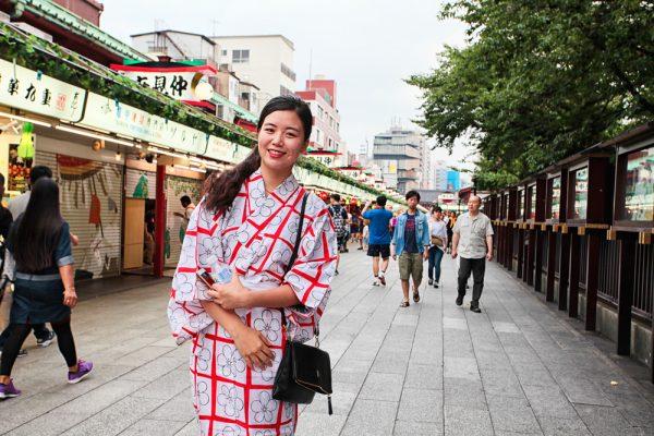 Девушка в Токио