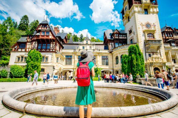 Девушка в Румынии