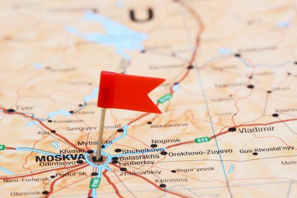 Карта Московской области