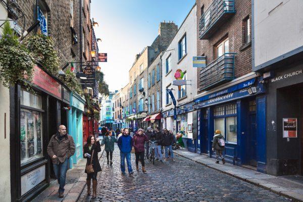 Люди в Ирландии