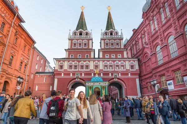 Люди в Москве