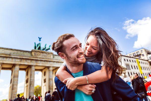 Пара в Берлине