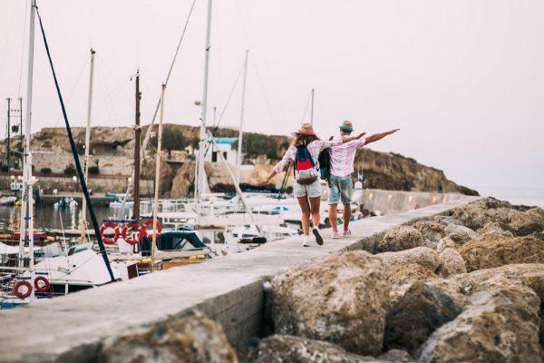 Пара в порту