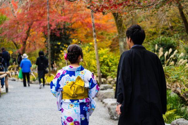 Пара в Японии