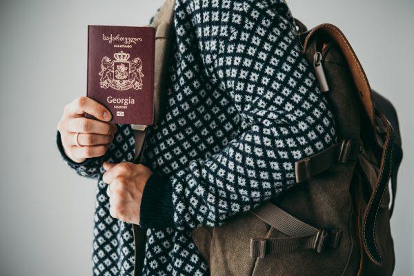Паспорт Грузии