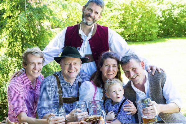 Семья в Германии