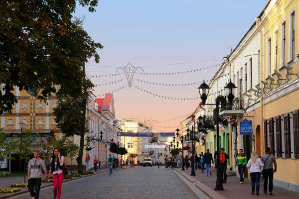 Улица в Беларуси