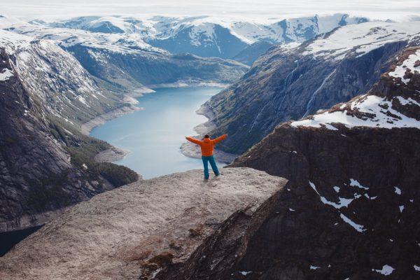 Человек в Норвегии