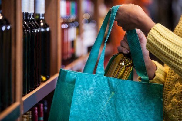 Вино в сумке