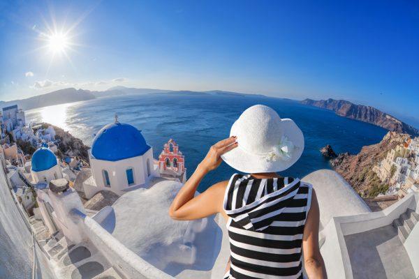 Женщина в Греции