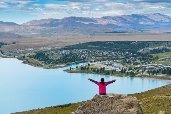 Женщина в Новой Зеландии