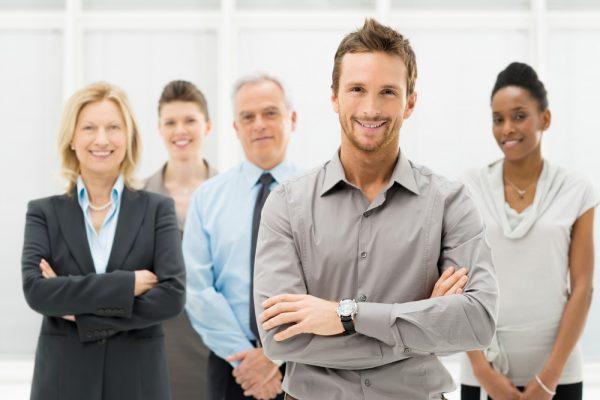 Группа деловых людей