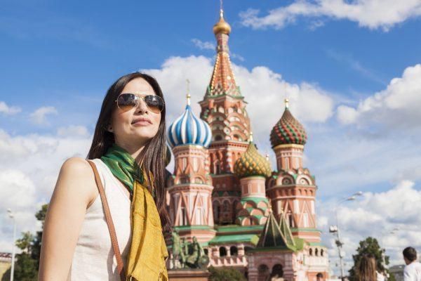 Девушка в Москве