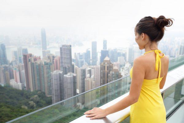 Девушка в Пекине