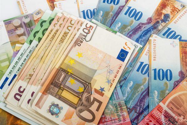 Евро банкноты