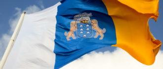 Флаг Канарских островов