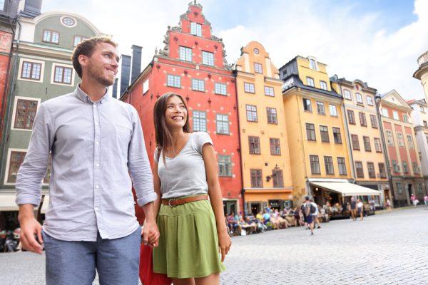 Пара в Стокгольме