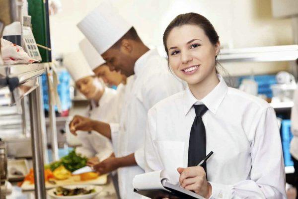 Работа в ресторане