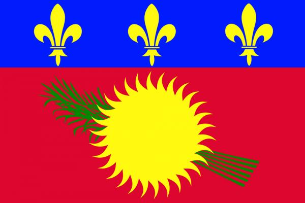Флаг Гваделупы