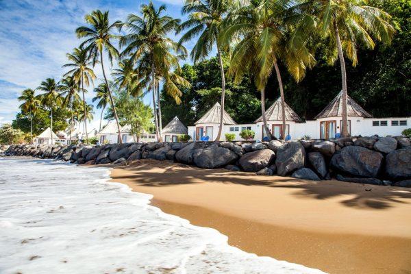 Пляж Гваделупы
