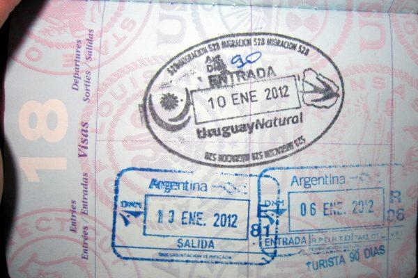 Штамп Уругвая