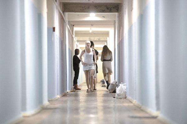 Общежитие в Греции